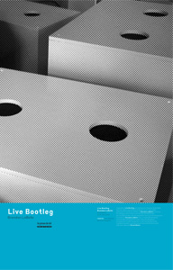Brandon LaBelle - Live Bootleg (+ CD)