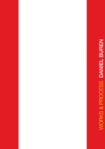 Daniel Buren - Works & Process - New expanded edition (2 DVD)
