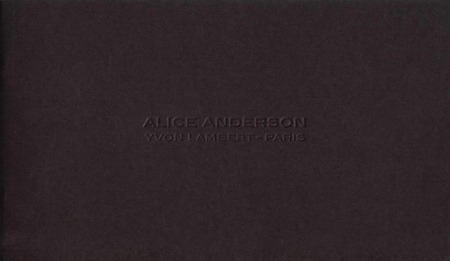 Alice Anderson - Belles Rives