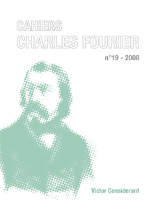 Cahiers Charles Fourier - Victor Considerant