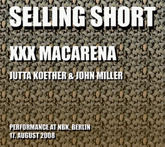 John Miller - Selling Short - XXX Macarena (CD)