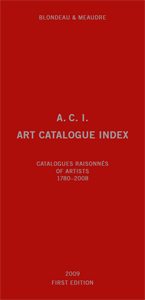 - A. C. I. – Art Catalogue Index