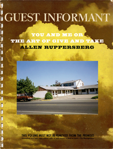 Allen Ruppersberg - You and Me or the Art of Give and Take