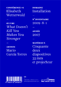 Elisabeth Wetterwald - Mario García Torres - What Doesn\'t Kill You Makes You Stronger