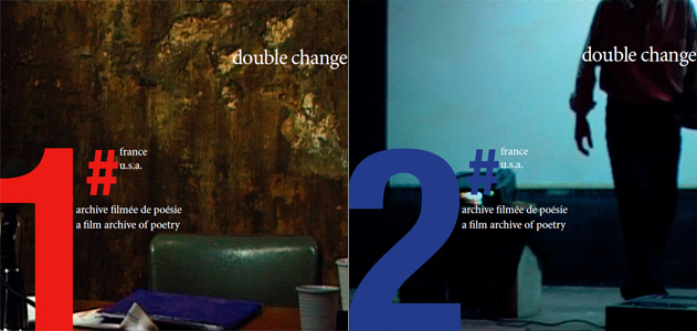 Double Change - Archive filmée de poésie – 2004-2005 + 2005-2006 (DVD)