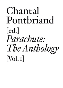 Parachute - The Anthology (vol. 1) – Museums, Art History, and Theory