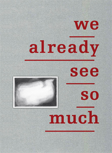 Euan Macdonald - We Already See So Much