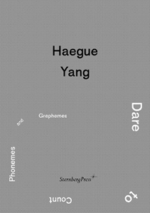 Haegue Yang - Dare to Count Phonemes and Graphemes