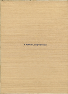 Jacopo Benassi - Slippers (coffret)