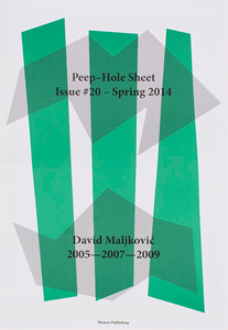 David Maljković - Peep-Hole Sheet - 2005-2007-2009