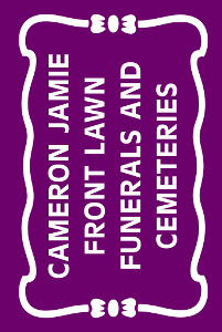 Cameron Jamie - Front Lawn Funerals and Cemeteries