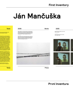 Ján Mančuška - First Inventory