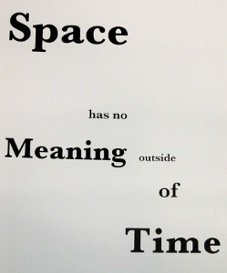 Koenraad Dedobbeleer - Space Has No Meaning Outside Of Time