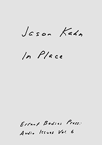 Jason Kahn - In Place