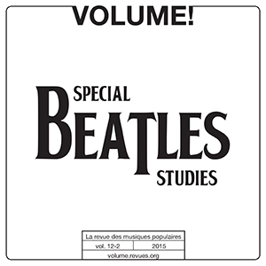 Volume ! - Spécial Beatles Studies