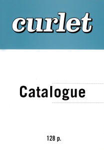 François Curlet - Catalogue