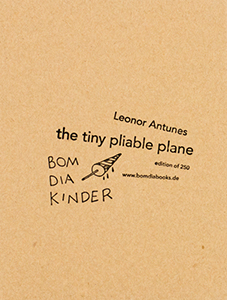 Leonor Antunes - The tiny pliable plane (box set)