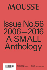 Mousse - 2006-2016 – A Small Anthology