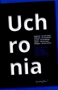 Annie Vigier & Franck Apertet (les gens d\'Uterpan) - Uchronia - duplicate > do not create, infiltrate > do not exhibit, exceed > do not belong, appear > do not claim, delegate > do not restrict