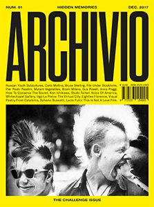 Archivio - The Challenge Issue