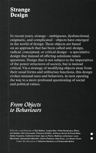 Strange Design - From Objects to Behaviors