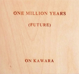 On Kawara - One Million Years (Box set)