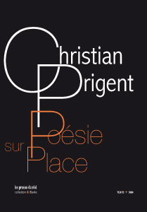 Christian Prigent - Poésie sur place (+ CD)