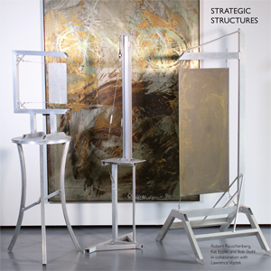 Robert Rauschenberg, Kat Epple & Bob Stohl - Strategic Structures (vinyl LP)