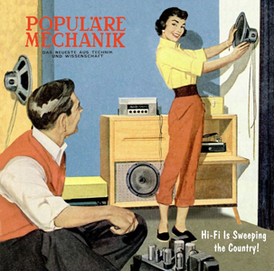 Populäre Mechanik - Hi-Fi Is Sweeping the Country! (2 vinyl LP)