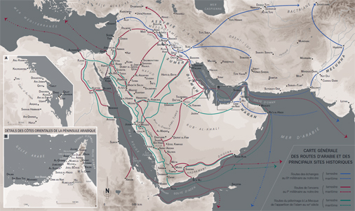 Routes d'Arabie