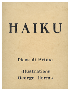 George Herms - Haiku