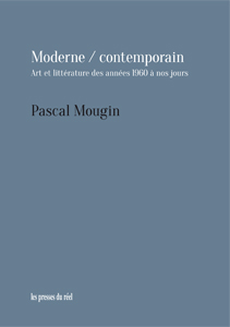 Pascal Mougin - Moderne / contemporain