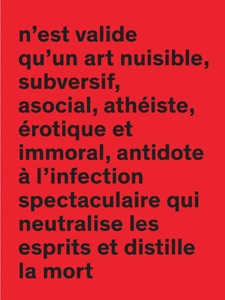 Inter - La disparition de l\'exception artistique