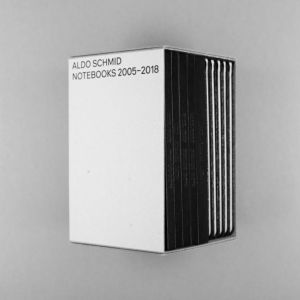 Aldo Schmid - Notebooks 2005-2018 (coffret)