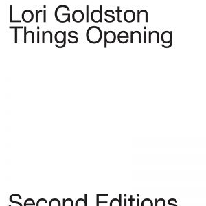 Lori Goldston - Things Opening (vinyl LP)
