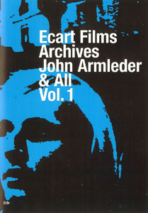 John Armleder - Ecart Films Archives - Vol.1 (DVD)