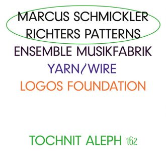 Marcus Schmickler - Richters Patterns (2 CD)