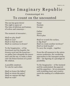 - The Imaginary Republic