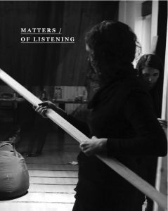 Matters of Listening (CD)