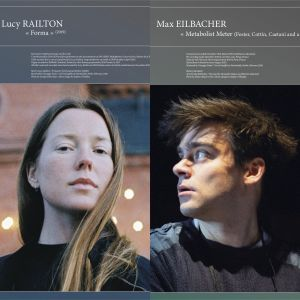 Lucy Railton - Forma / Metabolist Meter (Foster, Cottin, Caetani and a Fly) (vinyl LP)