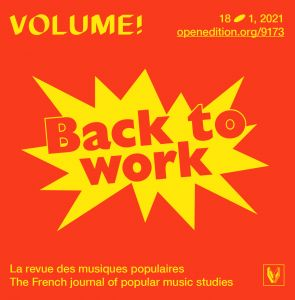 Volume ! - Back to work