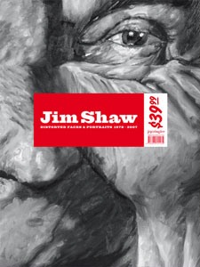 Jim Shaw - Distorted Faces & Portraits (+ affiche) - 1978-2007