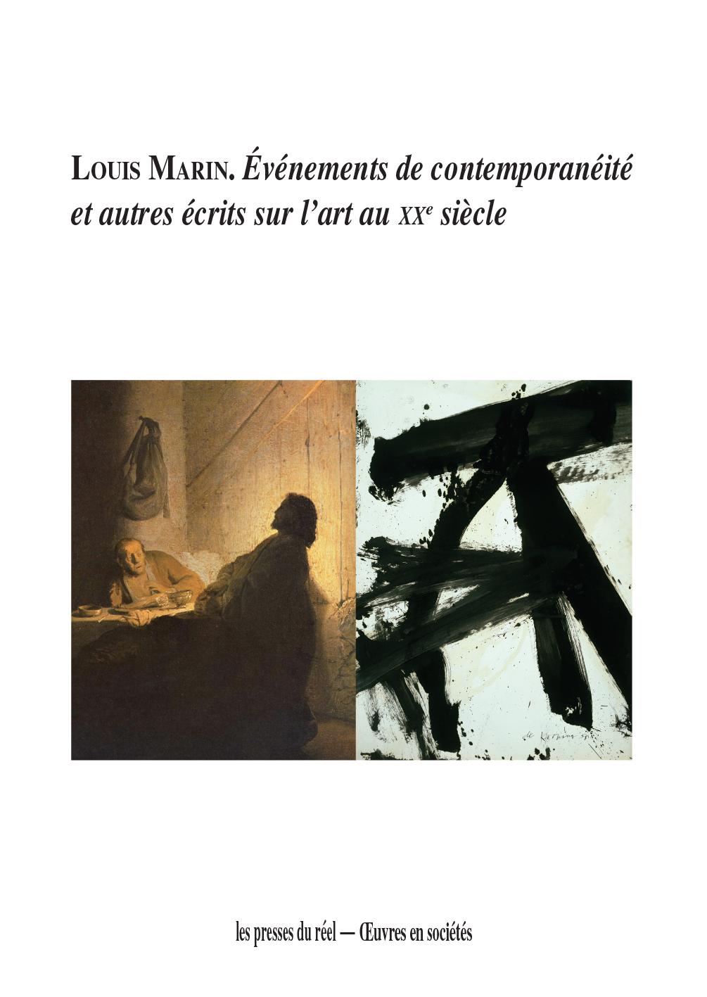 Louis Marin, penseur du contemporain dans l'art