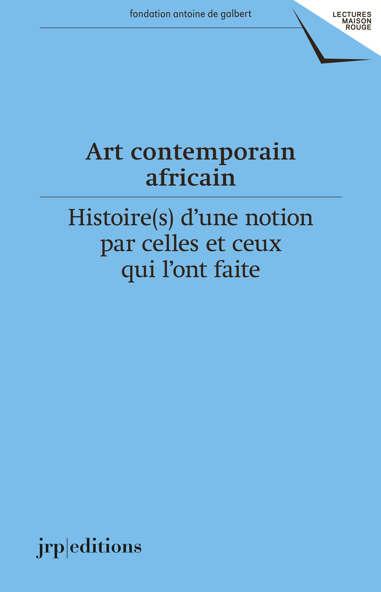 Art contemporain africain - Les presses du réel (livre)